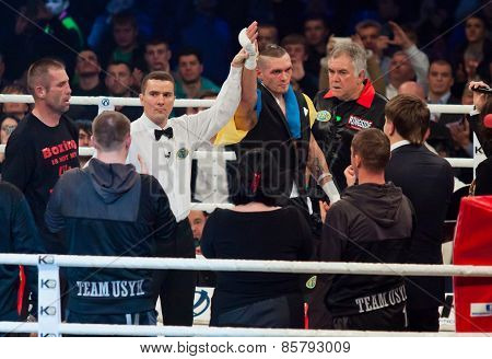 Boxing Fight Oleksandr Usyk Vs Danie Venter