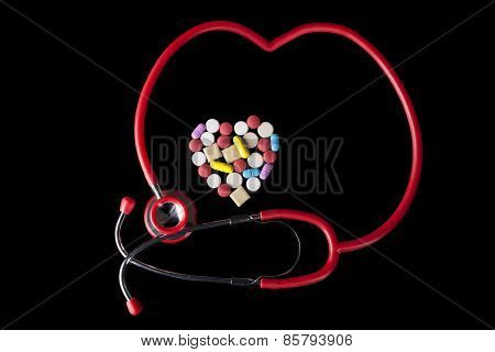 Stethocope Heart