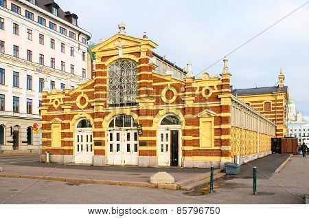 Helsinki. Finland. The Old Market Hall