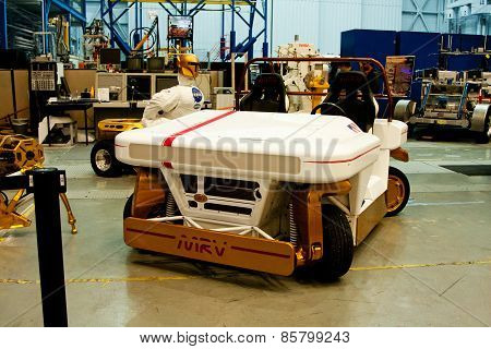 Mrv Mars Rover Vehicle Prototype