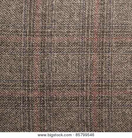 Tweed jacket fragment
