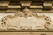 image of building relief  - Wall medallion alto - JPG