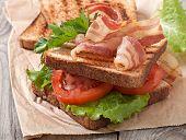 picture of bap  - hot big sandwich - JPG