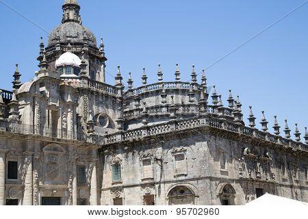 Cathedral Of Santiago De Compostela