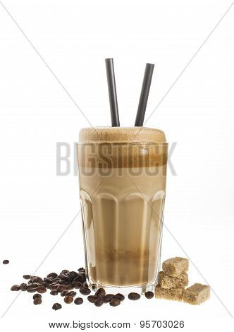 White Frappe Coffee