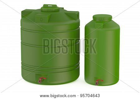 Green Water Tanks