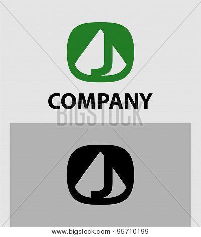 Letter J logo icon design template elements - vector sign