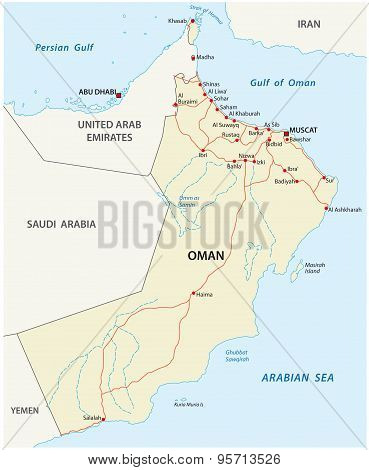 Oman Road Map