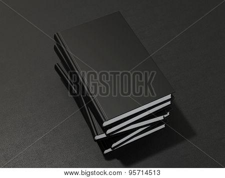 Book Black Mockup