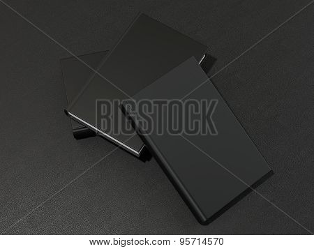 Some Book With Black Blank Cover