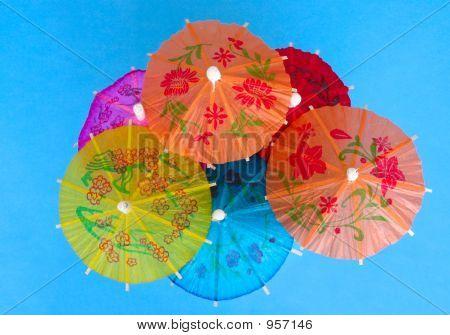 Asian Cocktail Umbrellas 2