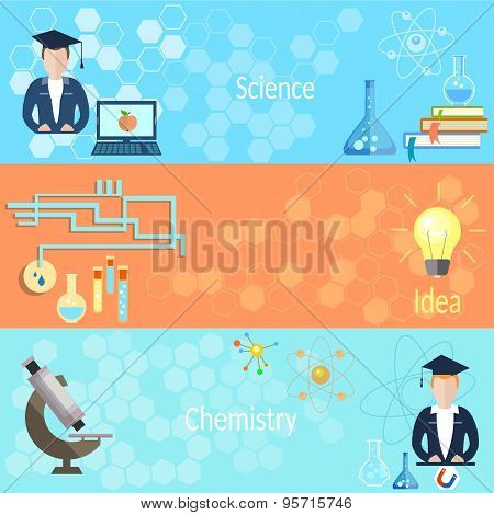 Education And Training: School, Teacher, Class, Chemistry, Physics, Computer, Microscope, Students