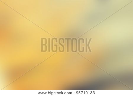 Blurred Yellowish Background