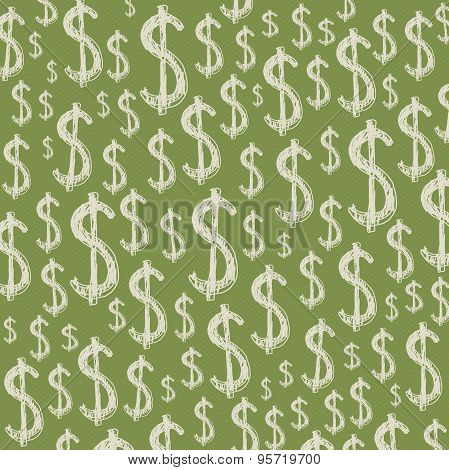 Dollars background.