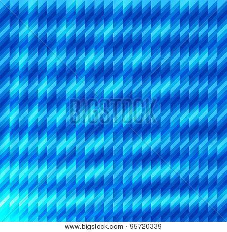 Mosaic Glowing Geometric Shapes Light Effect