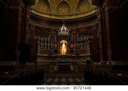 Saint Stephen's Basilica Indoor