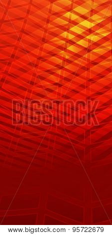 Page Booklet Red Background Glowing Effect Upward Arrow