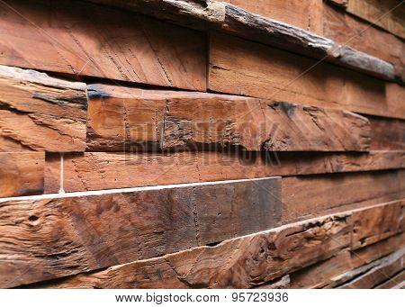 Timber Wood Wall Plank Background