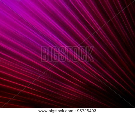 Purple Fiber Optic Fan