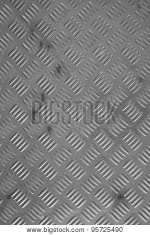 Damaged metal diamond plate texture