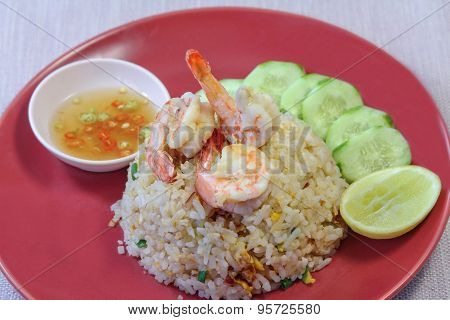 Shrimp Fried Rice, Food Staple, Asian Cuisine.