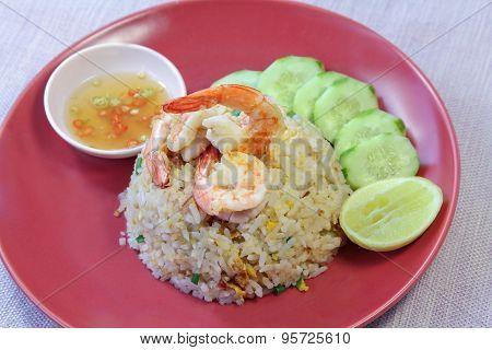 Shrimp Fried Rice, Food Staple, Asian Cuisine.