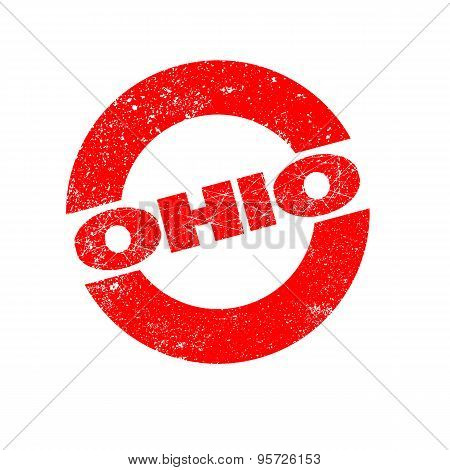 Rubber Ink Stamp Ohio
