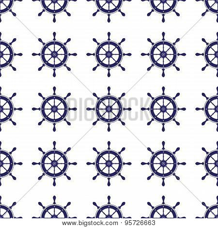 Steering Wheel Seamless Pattern