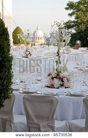 Table Set For Weeding