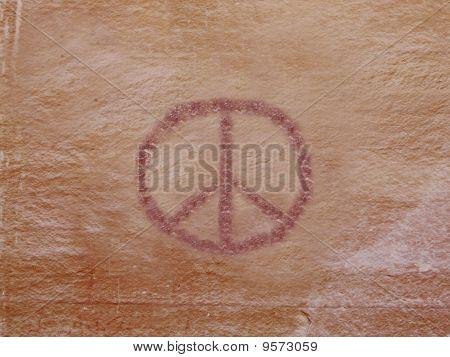 Petroglyph of Peace