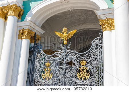 Gates To The Winter Palace