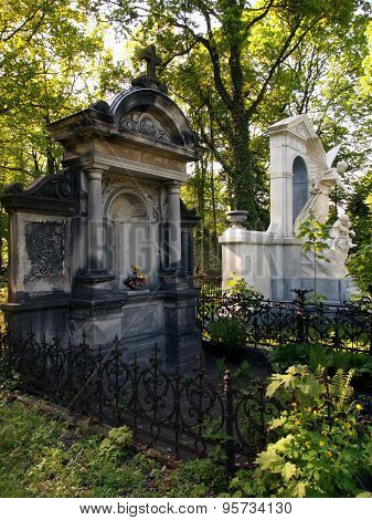 Tombs of history.