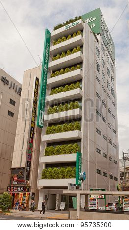 Essamu Kanda Hall Building In Tokyo, Japan