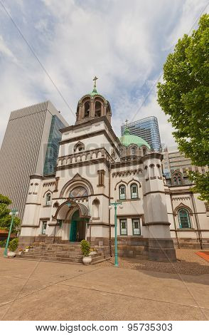Holy Resurrection Cathedral (nikorai-do, 1891) In Tokyo, Japan