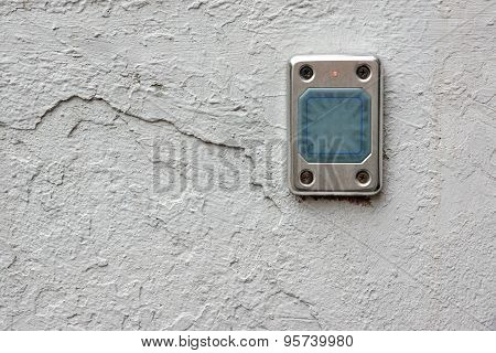 Access Control Card Reader On The Wall