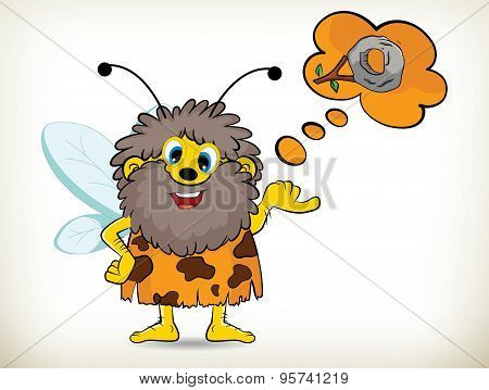 Caveman-bee