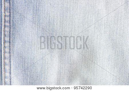 Worn Blue Denim Jeans Texture