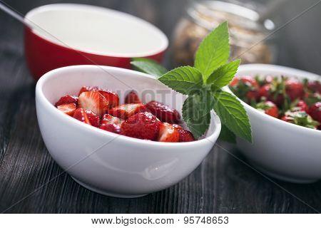 Delicious Strawberry Dessert