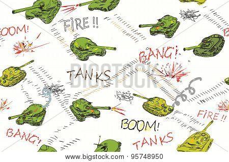Tanks Pattern