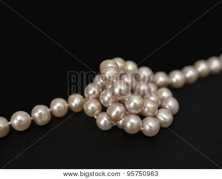 Pearls Over Black