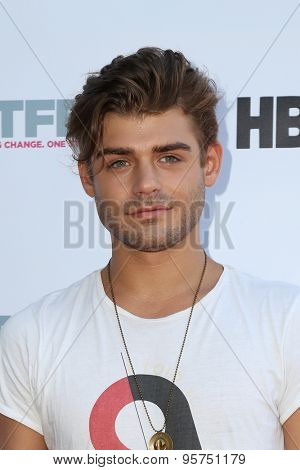 LOS ANGELES - JUL 10:  Garrett Clayton at the