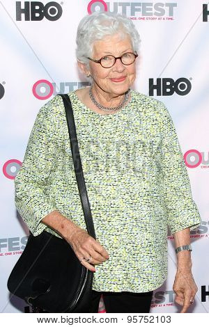 LOS ANGELES - JUL 11:  Betty DeGeneres at the