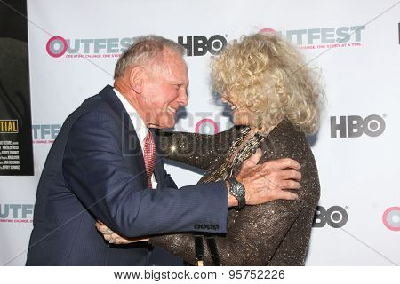 LOS ANGELES - JUL 11:  Tab Hunter, Connie Stevens at the