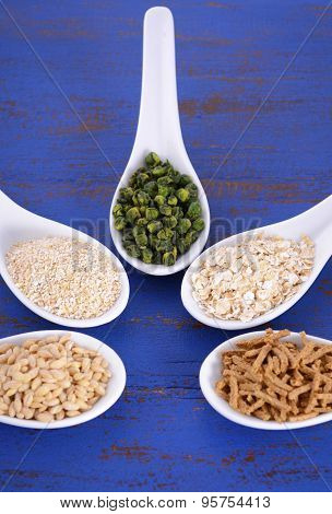 Healthy High Fiber Prebiotic Grains