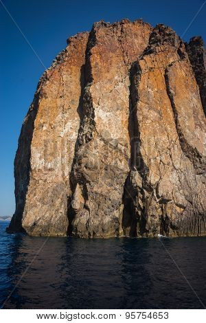 Amazing And Unusual Rock At Vani Peninsula, Milos, Greece