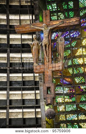 Interiors Of Cathedral Of Rio De Janeiro (san Sebastian)