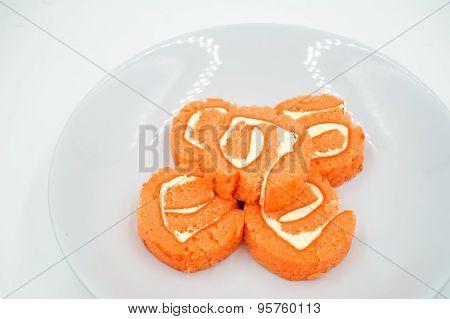 Yam Roll Cake