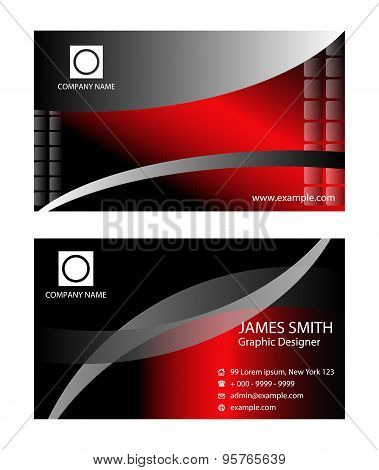 PrinTemplate business cards. Business card design
