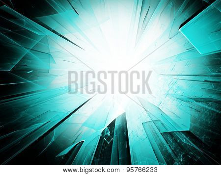 Abstract background design. Detailed computer graphics.