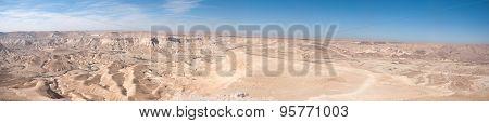 Negev Desert Panoramic View